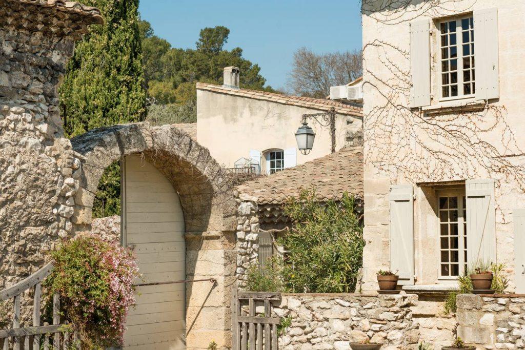 rénovation façade mas provençal